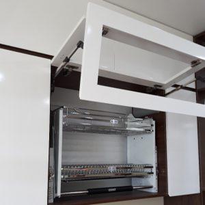 Giá bát đĩa nâng hạ GIKA 600/700/800/900M