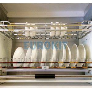 Giá bát đĩa nâng hạ GIKA 600/700/800/900