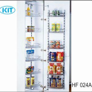 Tủ kho 6 tầng cánh mở EUROKIT HF 024A 400/450- INOX 304 12 RỔ