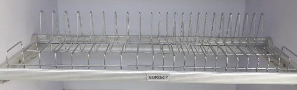 Giá để bát 3 tầng EUROKIT GK012B – 600/700/800/900 Có khay