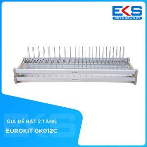 Giá để bát 2 tầng EUROKIT GK01C- 600/700/800/900 Có khay